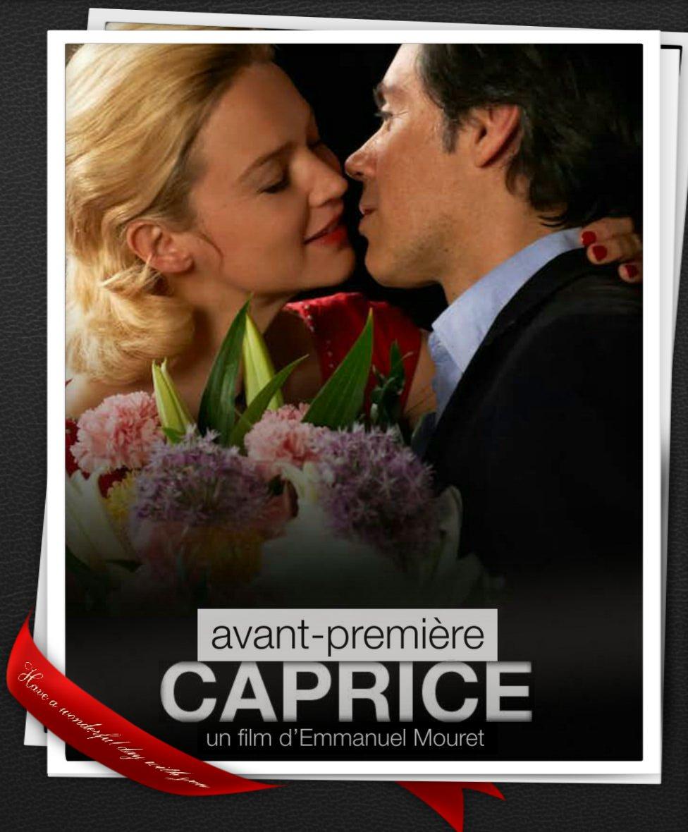 Film Caprice Emmanuel Mouret Virginir Efira Sortie au Cinéma avril 2015 Laurent Stocker Anais Desmoutier Woody Allen à la Française