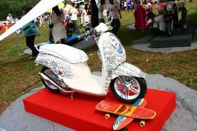 Kumpulan Modifikasi Motor Honda Scoopy title=