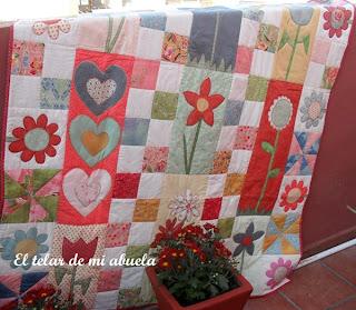El telar de mi abuela colcha patchwork - Colcha patchwork ...