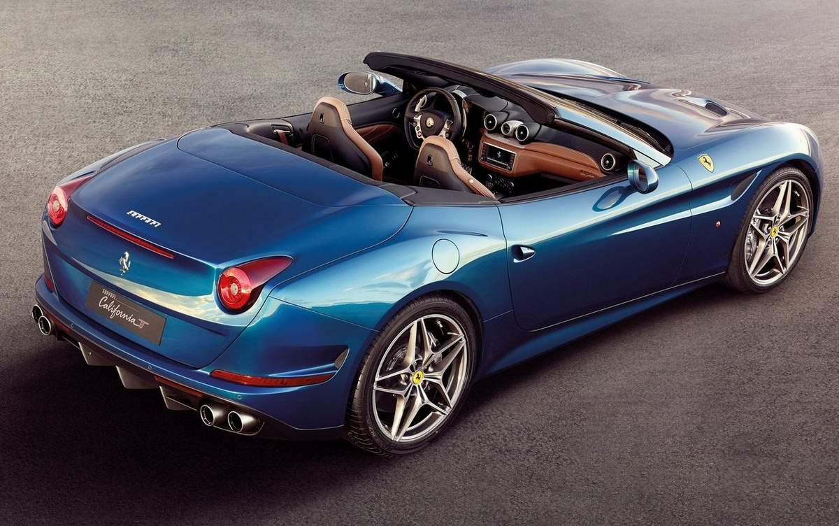 All New Ferrari California 2015
