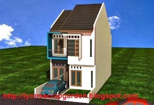 contoh design rumah minimalis 2 lantai type 21 36 dan 45