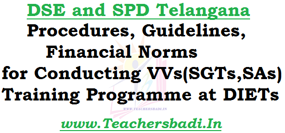 Procedures,Guidelines,Financial Norms VVs Training