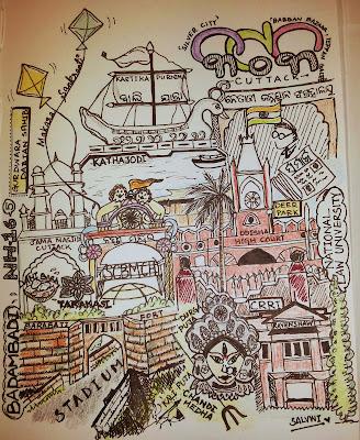 Doodle_Cuttack - Salvwi Prasad