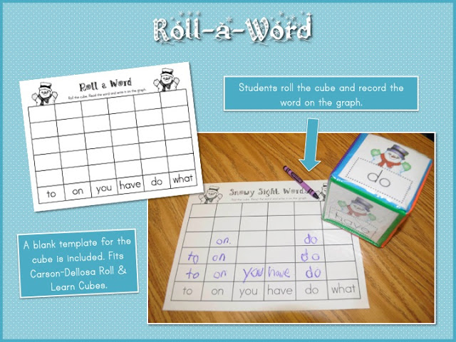 Mrs. Ricca\'s Kindergarten: Winter Math & Literacy Centers {Freebies}
