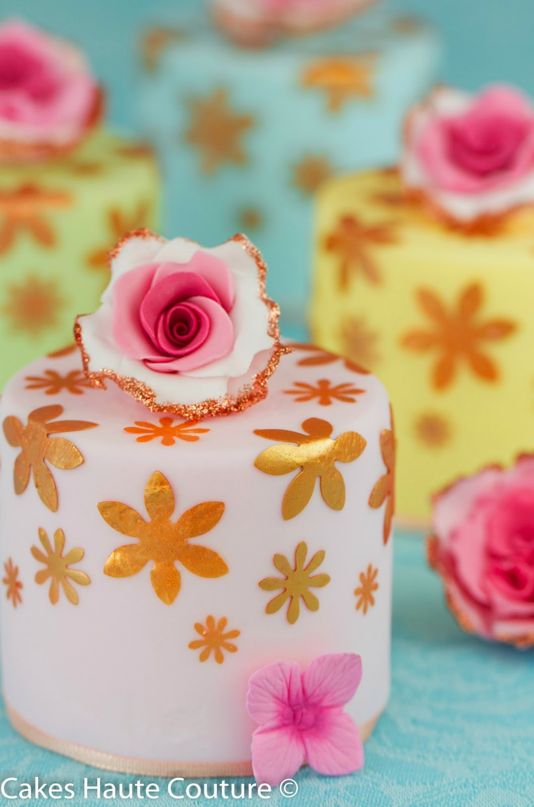 Curso de tartas fondant