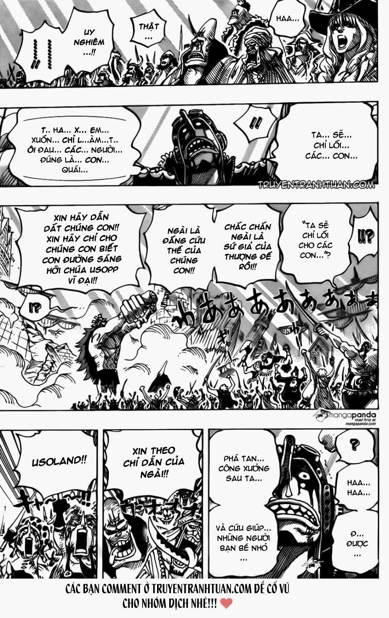 one piece chap 744 trang 013, One Piece chap 744   NarutoSub