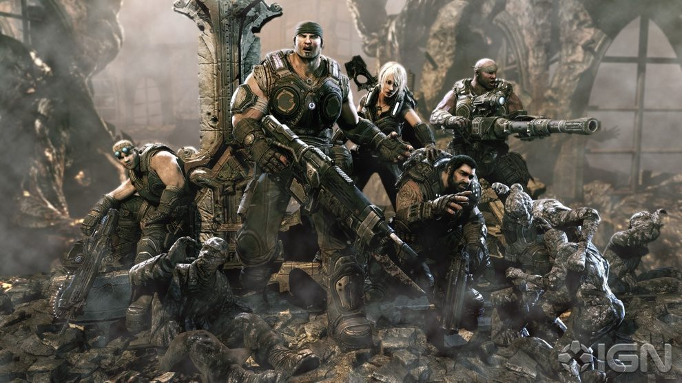 Gears of War 3 Monsters