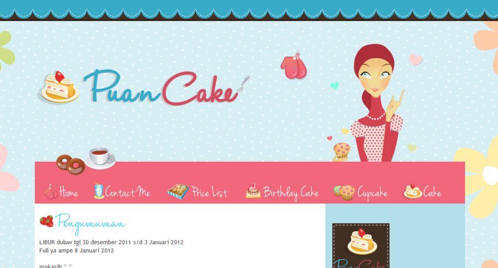 Custom Cute Blog Design