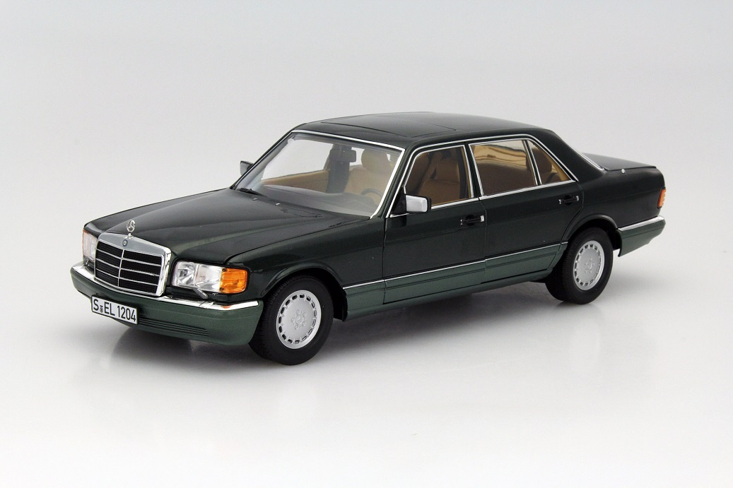 modellauto news mercedes benz 560 sel w126 die s klasse. Black Bedroom Furniture Sets. Home Design Ideas
