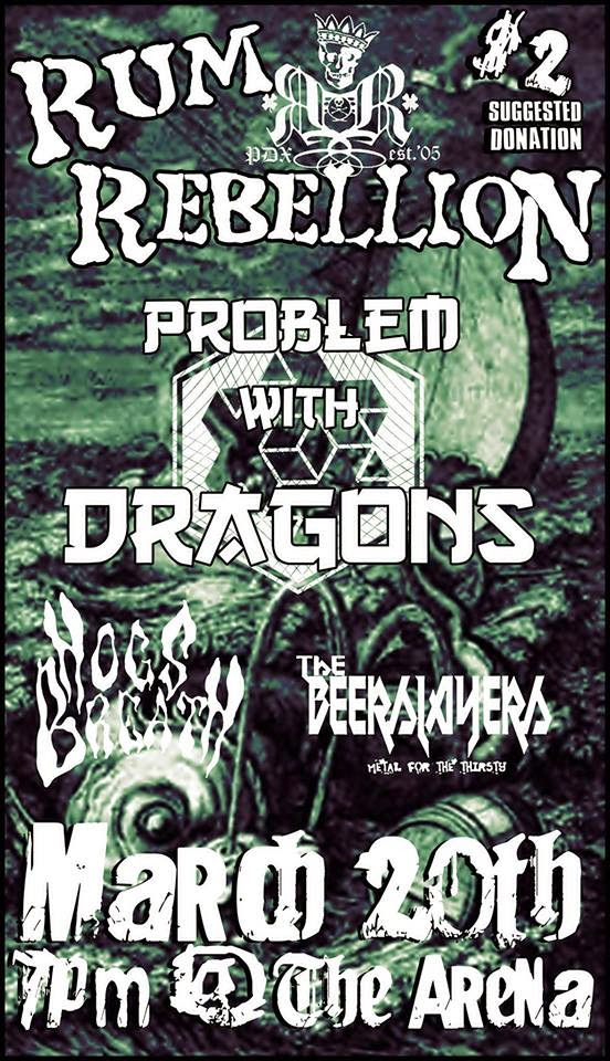 Rum Rebellion // Problem With Dragons // Hogs Breath // The Beerslayers