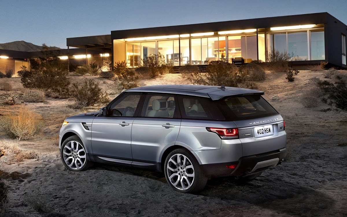 2014 Range Rover Sport Widescreen HD Wallpaper 6