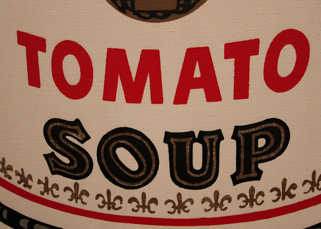 Andy Warhol and the iconic Cambell's Soup Can paintings, LACMA Los Angeles County Museum of Art