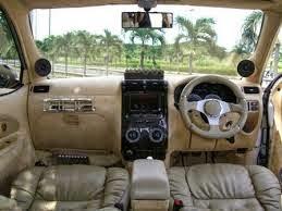 modifikasi interior mobil kijang