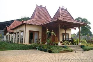 Contoh Desain Rumah Etnik Jawa Minimalis