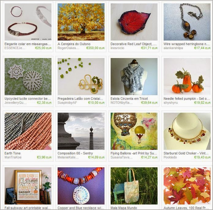 Fall Colors Treasury by Ana Cravidao
