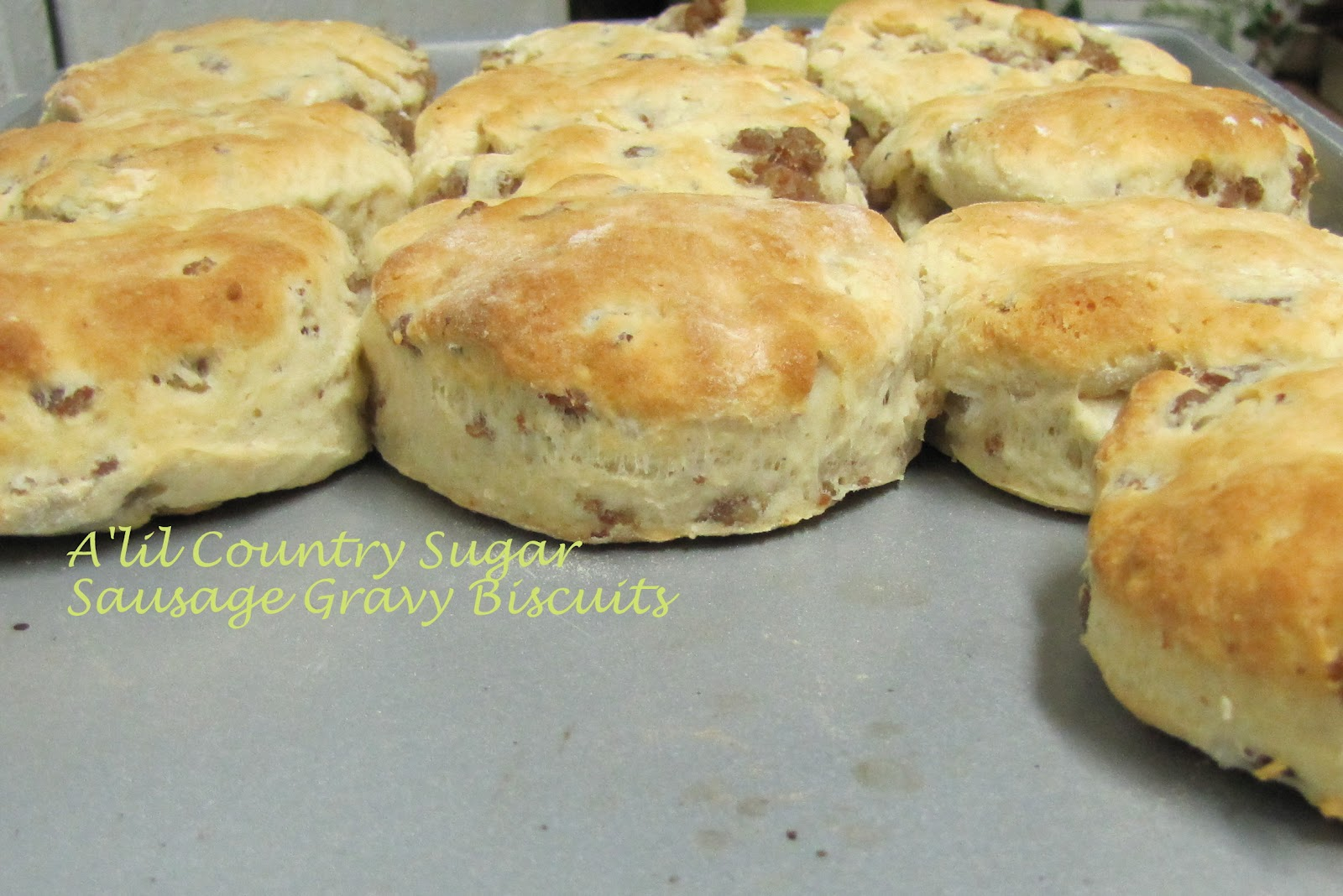 Sausage Gravy Biscuits recipe