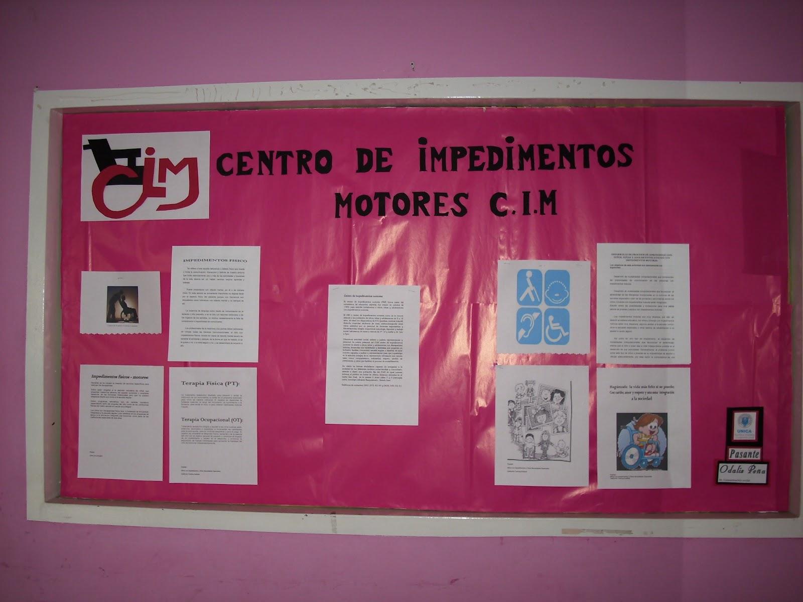 Amigos del C.I.M: ELABORACIÓN DE CARTELERAS INFORMATIVAS