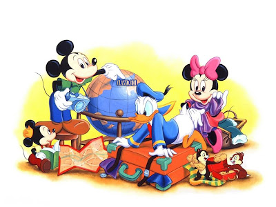 Desenho Turma do Mickey Mouse colorido