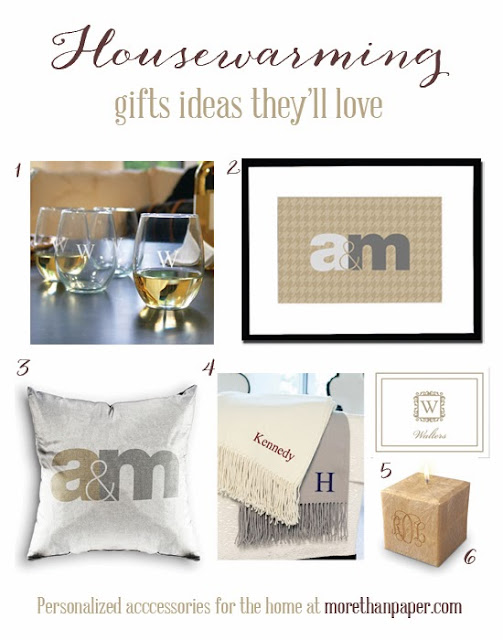 More Than Paper Blog Housewarming Gifts