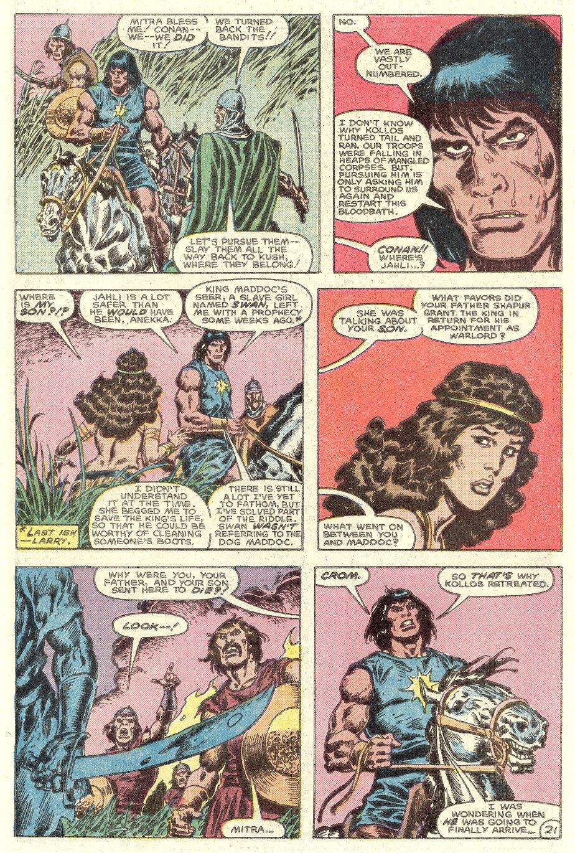 Conan the Barbarian (1970) Issue #182 #194 - English 23