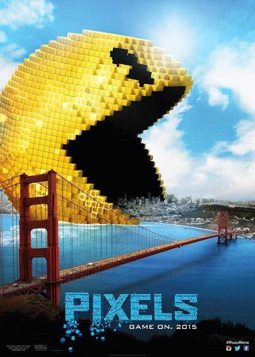 Pixels 2015 720p Esub BluRay  Dual Audio English Hindi GOPISAHI