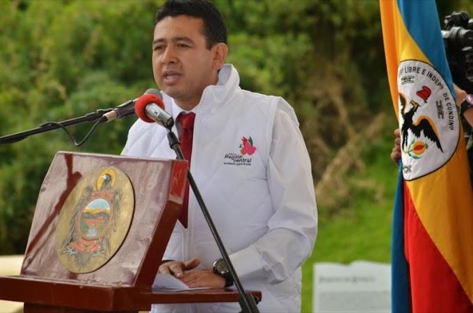 Bernardo Umbarila Suárez, director de Planeación de Boyacá, designado como Presidente de la RAPE Región Central