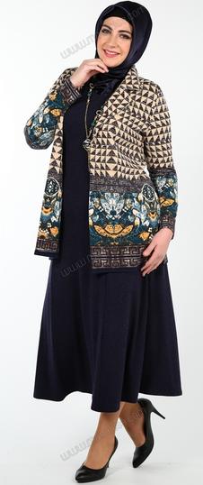 Model Baju Batik Muslim Pakai Rok