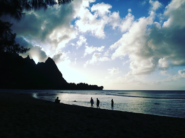 Tunnels Beach, Kauai, Hawaï, USA