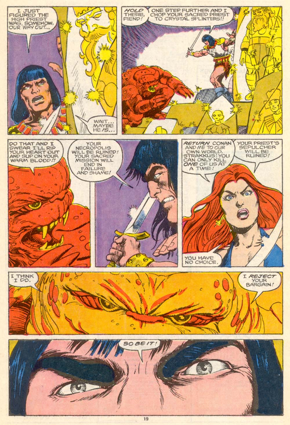 Conan the Barbarian (1970) Issue #205 #217 - English 20