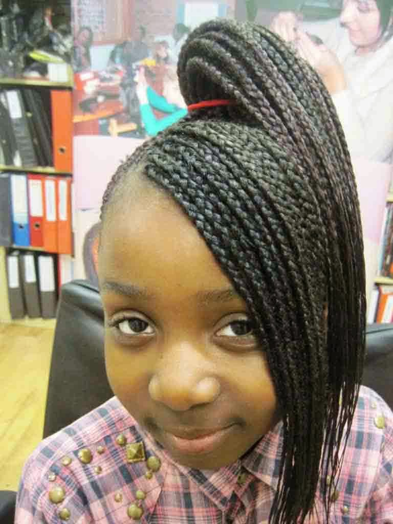 Braided Hairstyles For Girls black girls hairstyles and haircuts 40 cool ideas for black coils Cute Braided Hairstyles For Black Girls