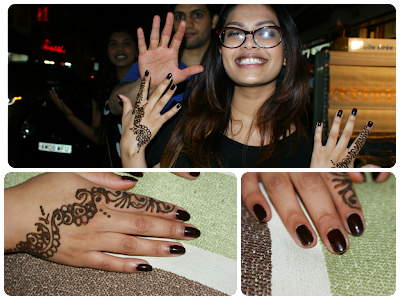 Mehendi/ Henna on Chand Raat Ladypool Road Birmingham, Illamasqua Unnatural