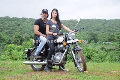 Katrina Kaif motorcycle