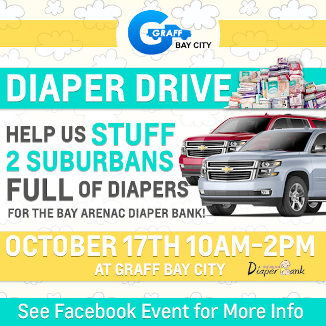 Diaper Drive At Graff Bay City