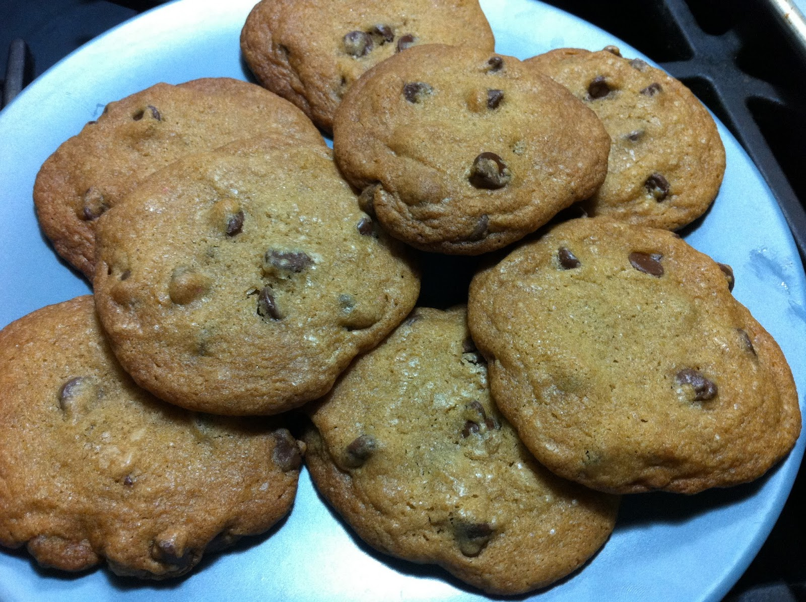 Alton Brown Chocolate Chip Cookies Chewy