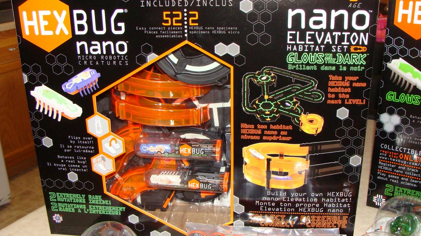 Hexbug Nano Habitat Set Glow in The Dark Hexbug Nano Glows in The Dark