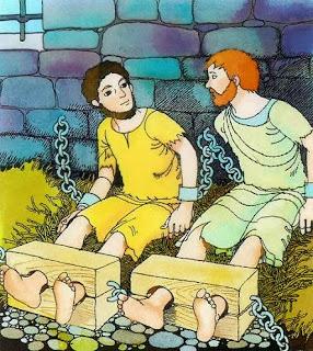 Paulo e Silas na Prisão