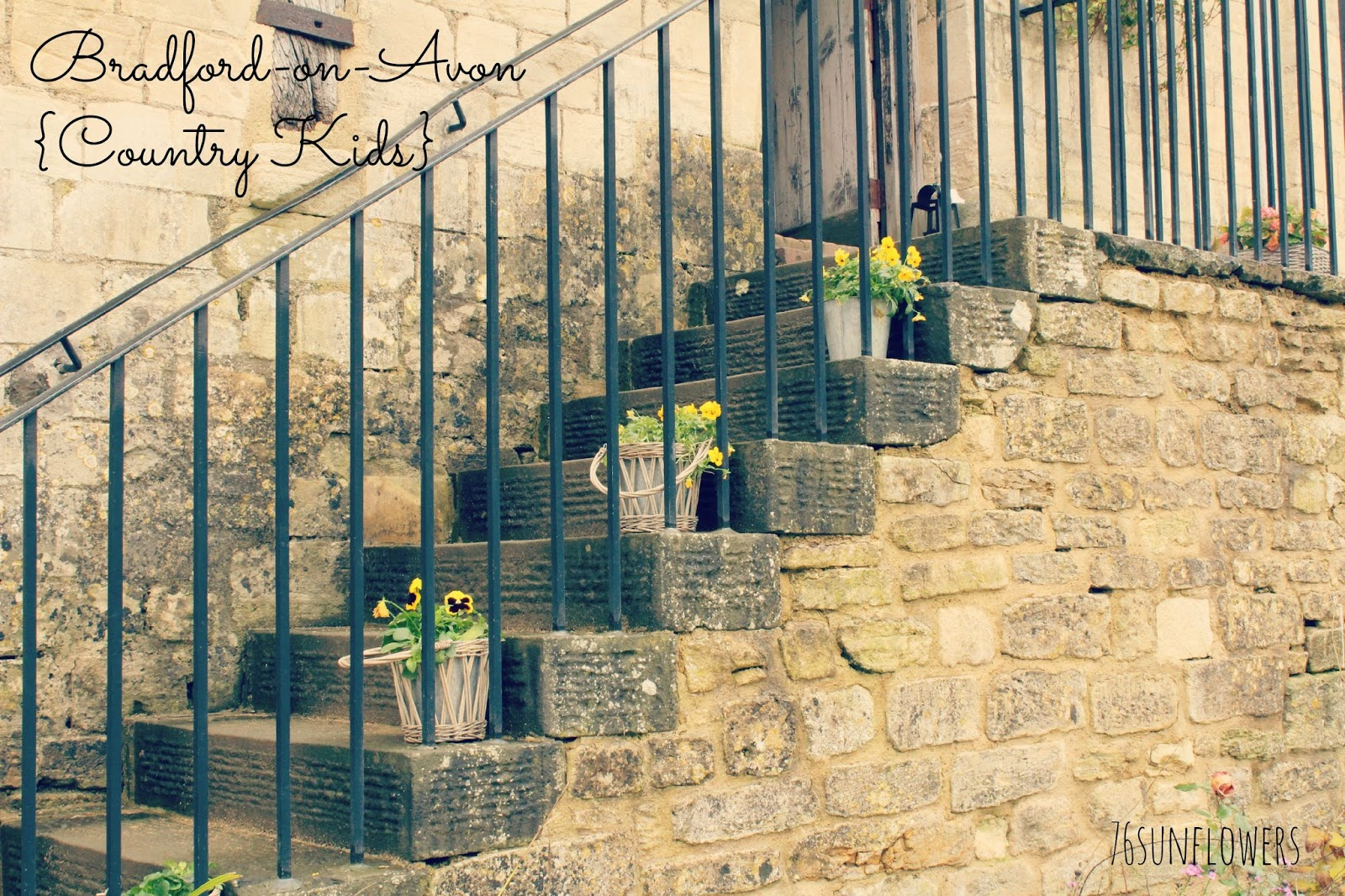 Bradford-on-Avon walk {Country Kids} // 76sunflowers