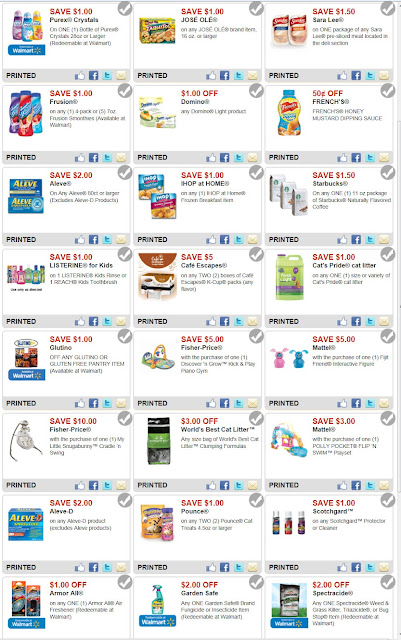 Walmart coupons codes