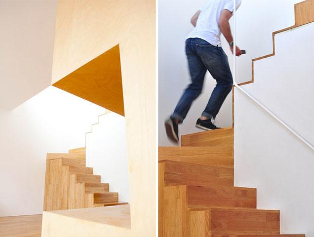 OODA,227 flat,reforma,piso,Oporto,duplex,hamaca,proyecto,redesign,apartment,porto,portugal,wood,hammock,escalera,stairs