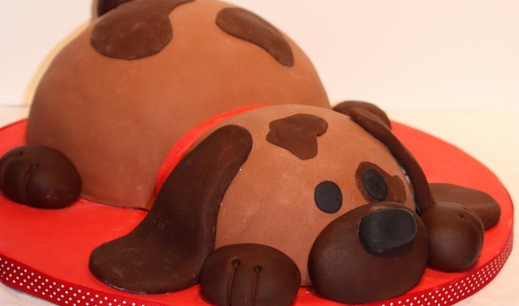 Cake Art Kirkland Wa : Whimsical by Design: Puppy Dog Birthday Cake
