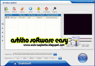 Zealot All Video Splitter 4.4.0