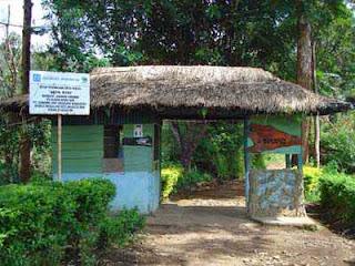 Pintu Masuk Taman Hutan Jaya Giri Lembang