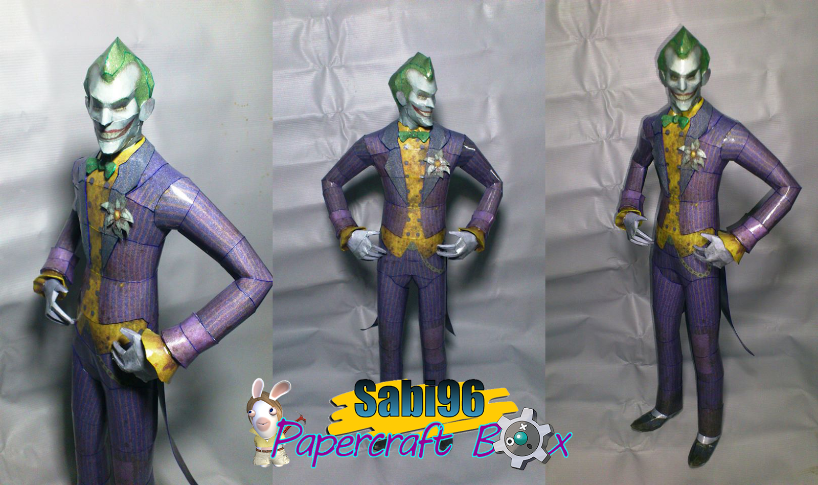 Batman Arkham City The Joker Papercraft