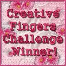 Creative Fingers Winner Badge