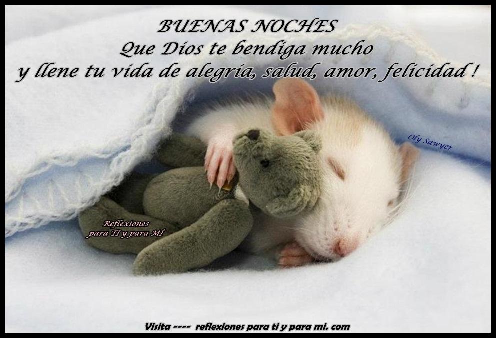 Feliz Noche Mi Amor Dios Te Bendiga