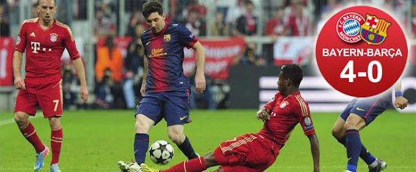 InfoDeportiva - Informacion al instante. BAYERN MUNICH VS FC BARCELONA, CHAMPIONS LEAGUE