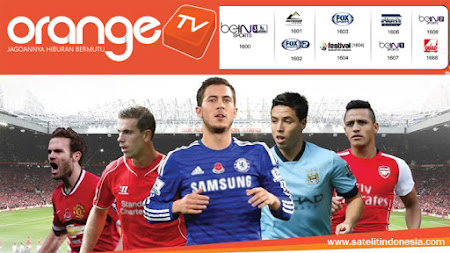 jadwal pertandingan sepak bola orange tv