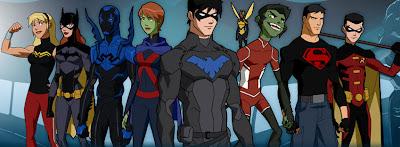 Equipe junta da Justiça Jovem: A Invasão