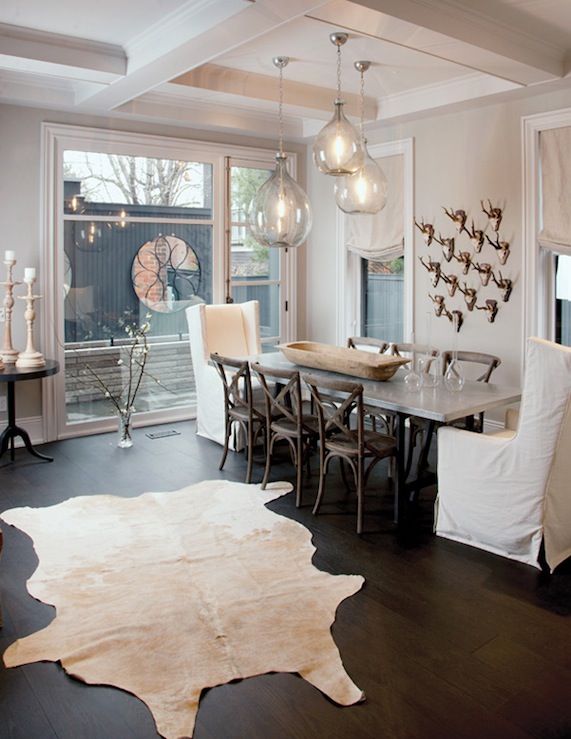 Decor Rustic Glam Dining
