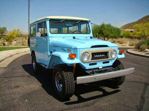 awesome 1973 toyota land cruiser fj40 auto restorationice. Black Bedroom Furniture Sets. Home Design Ideas